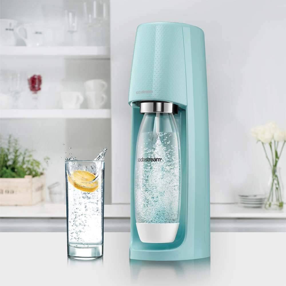 machine à soda sodastream spirit bleu pastel