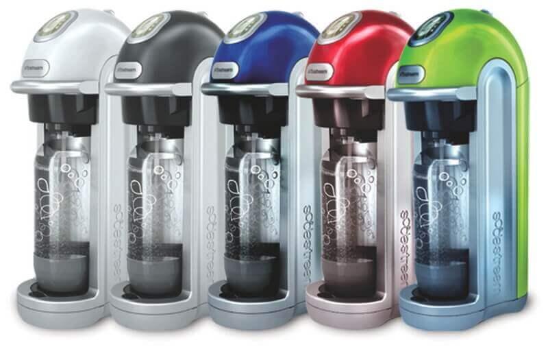 les différentes couleurs de la sodastream fizz